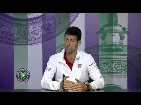 Novak Djokovic: 'the best final I have played in' - Wimbledon 2014 Final