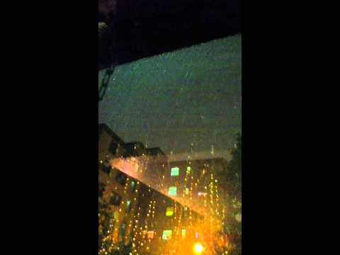 Boston,MA lightning,thunder nd rain storm(Tornado)