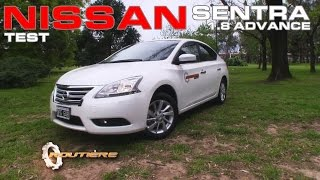 Nissan Sentra 1.8 Advance Manual Test Routière Pgm