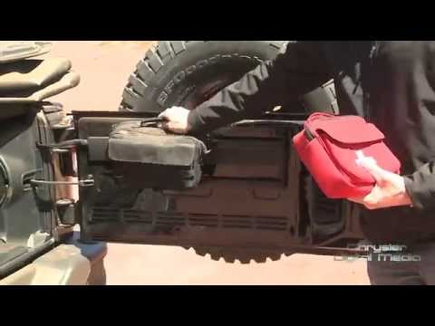 Jeep Wrangler Cargo Management System