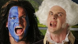 [Epic Rap Battles: George Washington vs William Wallace] Video