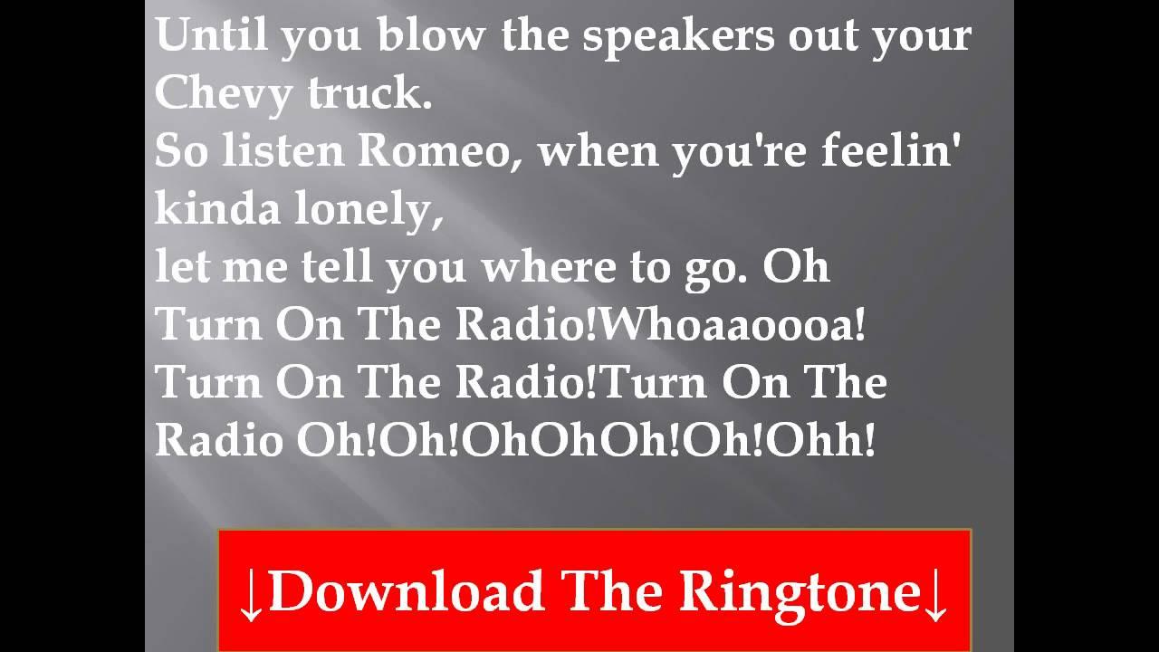 Reba mcentire turn on the radio lyrics youtube