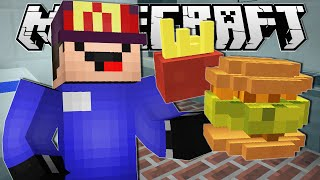 Minecraft | WORKING AT MCDONALDS!! | Order Up Custom Map