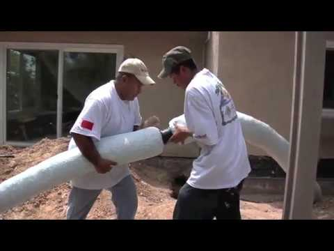 How to install a french drain water drainage solutions for Easy yard drainage solutions