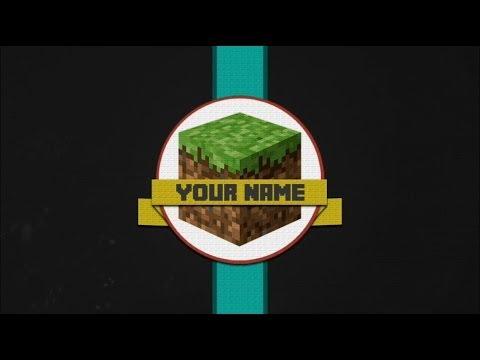 free minecraft intro template movie maker youtube