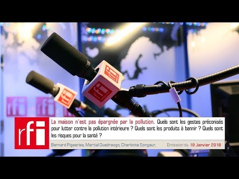 Podcast : La maison polluée. Bernard Pigearias - Martial Ouedraogo