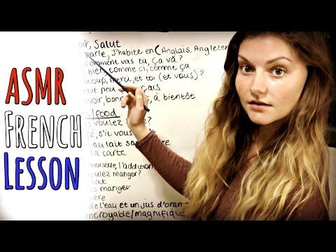 (ASMR) Leçon De Français 🇫🇷 Teacher Role Play - Miss Synchronicity.