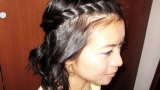 Bohemian Twist Rope Braid Hairstyle For Short Medium Long