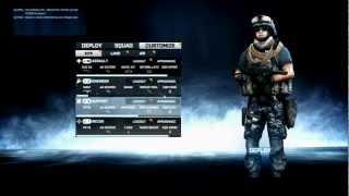 BF3 - Navy Blue Digital Camo - Soldier Camo - Battlefield 3 Premium view on youtube.com tube online.