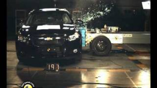 Chevrolet Cruze kaza testi - Euro NCAP 2009