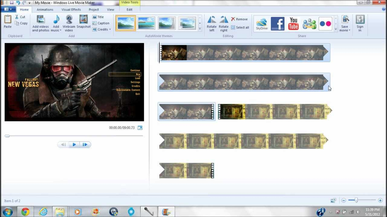 How to edit your fraps videos