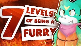 THE 7 LEVELS OF BEING A FURRY (Dante's Edition)