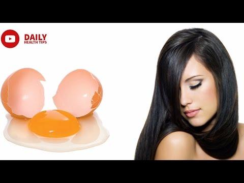 1 हफ्ते में मोटे और लम्बे बालो के लिए अपनाये अण्डों के पैक   Eggs Pack For Thick & Long Hair