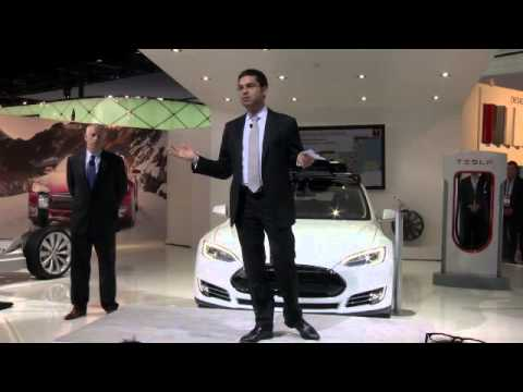 UNCUT:  Tesla 2014 NAIAS reveals