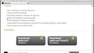 XP Und Vista Passwort Auslesen (Teil 1 Von 2)