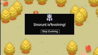PTD 2: How To Evolve Snorunt Into Froslass