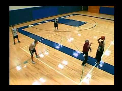 Transition Offense Drills: The Laker 4-Man Drill