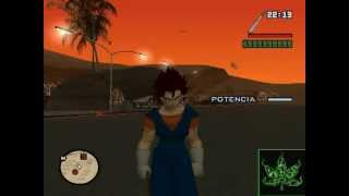 Dragon Ball Z En El Gta San Andreas