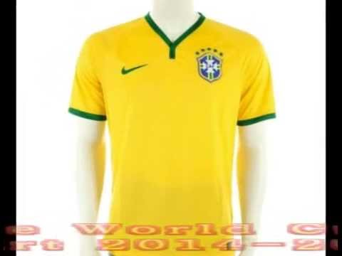 2014 2015 Brazil Home World Cup Football Shirt