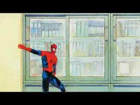 Dancing Spider-Man