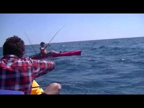Deep Sea Kayak Fishing
