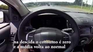 S10 2014 Diesel LTZ Automática. Consumo Médio.