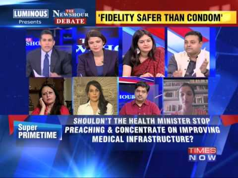 The Newshour Debate: NDA's morality minister Harsh Vardhan - Full Debate (27th June 2014)