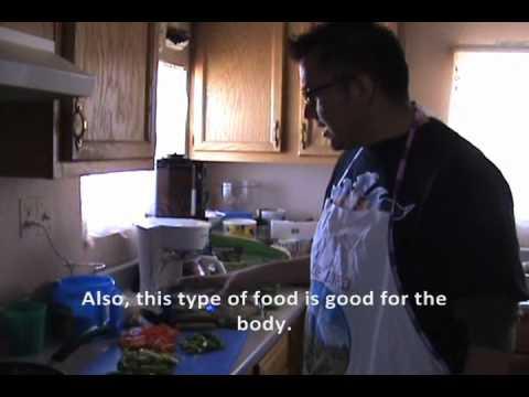 How to Cook Low-Fat Fajitas (English & Navajo Language Tutorial)