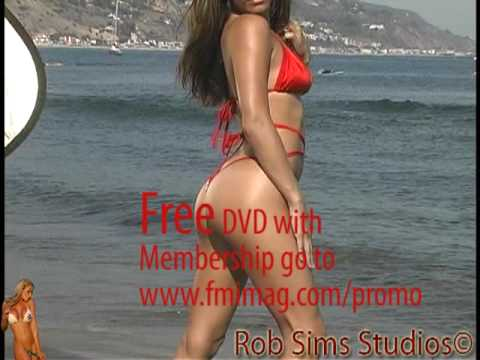 Fitness Model Shana Steele Micro Thong Bikini