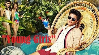 Bruno Mars Young Girls Live* + Lyrics HD 2014*