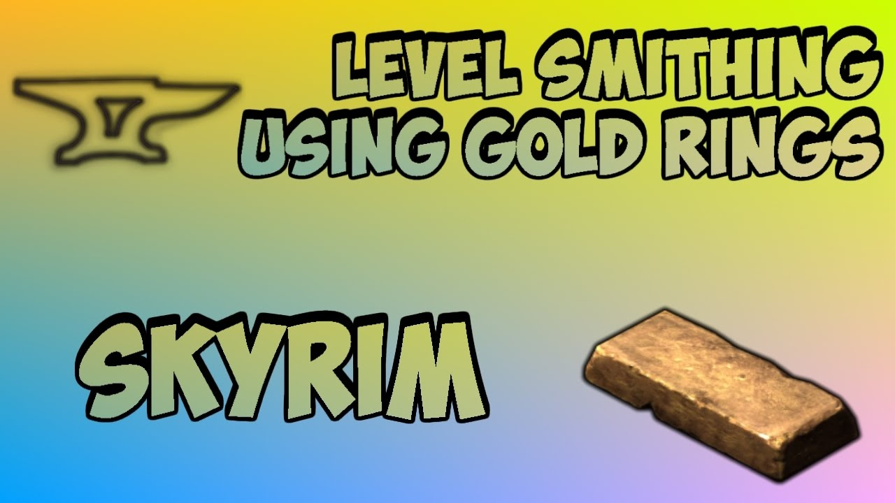 skyrim smithing leveling guide after patch
