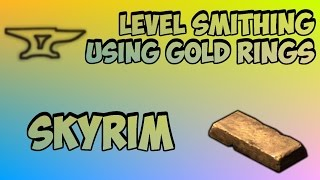Skyrim: How To Get 100 Smithing Fast (After Patch 1.5