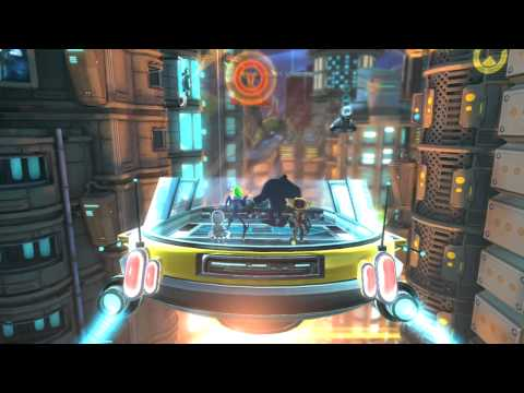 Ratchet &amp; Clank: All 4 One E3 2011 Luminopolis Footage!