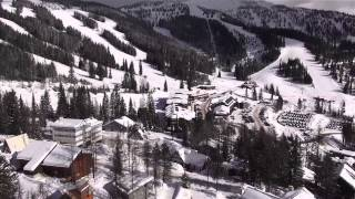 Above Whitefish Mountain Resort with the CineStar 6 and Sony CX760