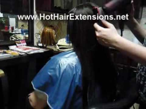 Japanese Straightening At Glo Salon Fullerton Ca Youtube