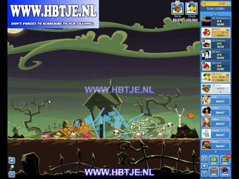 Angry Birds Friends Tournament Level 5 Week 77 halloween (tournament 5) no power-ups