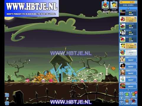 Angry Birds Friends Tournament Level 5 Week 77 halloween (tournament 5) no power-ups