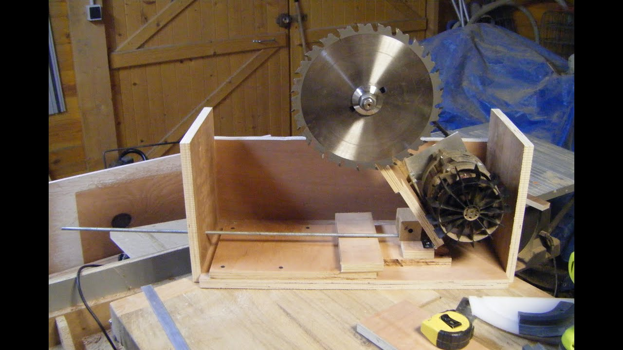 Scie sur table diy fabrication du berceau moteur 1 re partie youtube - Scie sur table fabrication maison ...