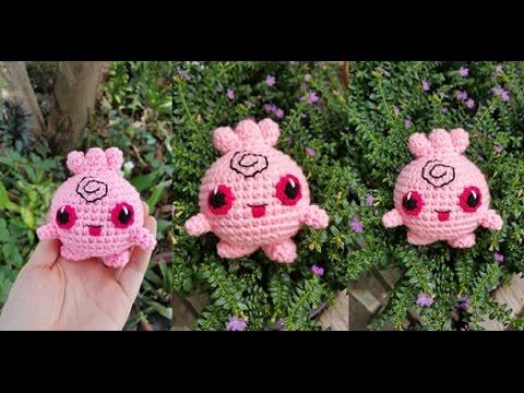 Igglypuff Pokemon Crochet Tutorial (Pupurin - ププリン)