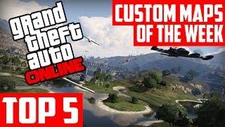 GTA 5 Custom Maps TOP 5 Races & Deathmatches, EP.2 GTA