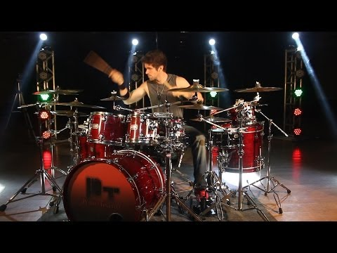 PEDRO TINELLO - Beyonce feat. Shakira - Beatiful Liar - DRUM COVER