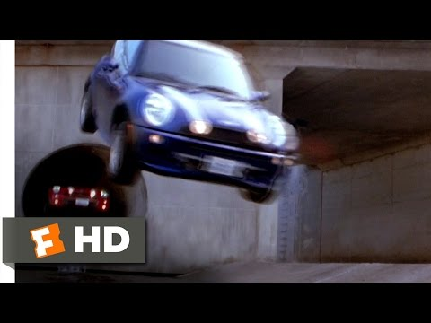 Tube Chase SCENE - The Italian Job MOVIE (2003) - HD