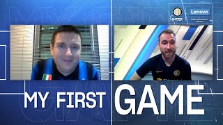 INTER x LENOVO | #MYFIRSTGAME | A VIDEOCALL with CHRISTIAN ERIKSEN! 💻⚫🔵🇩🇰???? [SUB ITA + ENG]