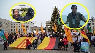 Người Việt tại Đức phẫn nộ biểu tình lên án vụ bắt Trịnh Xuân Thanh và tên V.i.ệ.t gian nằm vùng