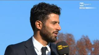 22/11/2014 - Campionato Primavera - Juventus-Torino 2-1, intervista a Grosso
