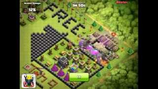 Clash Of Clans [EPIC] High Level TH9 Trophy Design