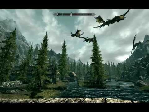 Skyrim: драконы, анлимитед