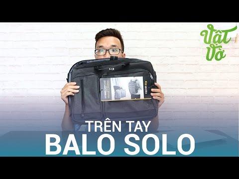 Vật Vờ| Trên tay balo & túi chống sốc thương hiệu Solo