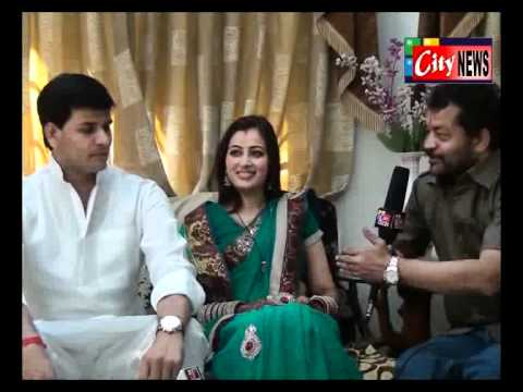 RAVI RANA NAVNEET (KAUR) RANA EXCLUSIVE INTERVIEV  .flv