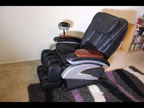 shiatsu massage chair full review model ec06c youtube